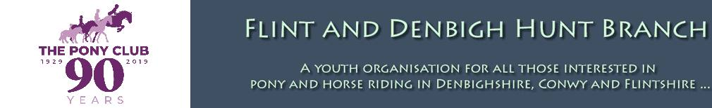 Flint and Denbigh Pony Club Booking System